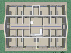 Kennel Design Bird's-eye View